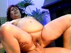 bulky lady